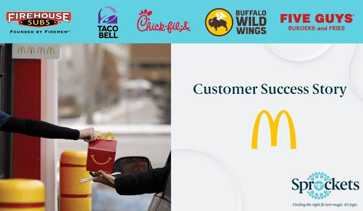 McDonalds Testimonial